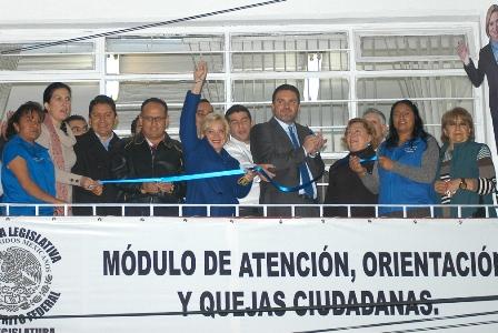Inaugura Módulo De Atención Ciudadana Diputada Olivia Garza