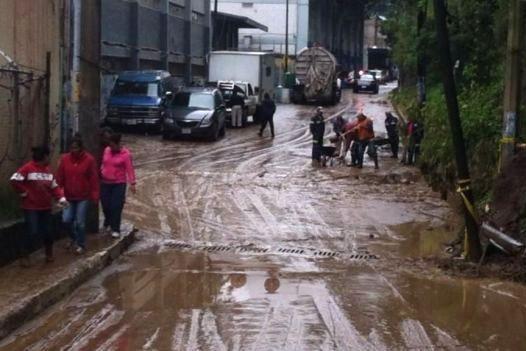 Resultado de imagen para inundaciones cuajimalpa